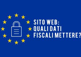 sito web quali dati fiscali
